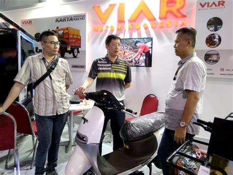 Viar Cross X 100 Mini Trail Picture by Kedai Kopi Roda Tiga Dari Viar Siap Fasilitasi Pelaku Ukm