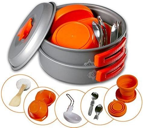 camping kitchen cookware box gear4u pots