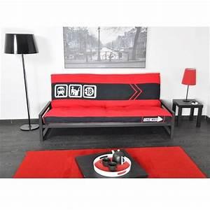 Canap pour chambre ado elegant cheap pe canape chambre for Canapé 3 places pour deco chambre garcon ado