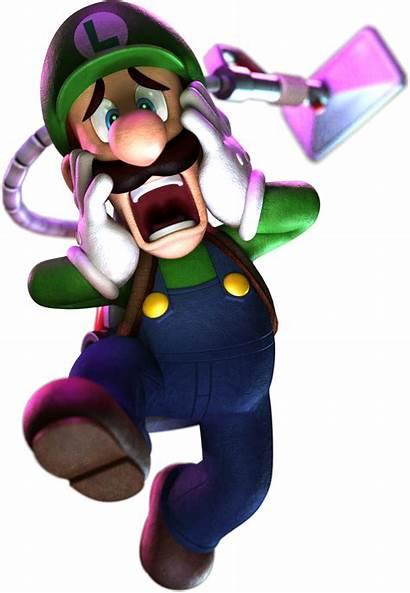 Luigi Mansion Moon Dark Luigis Scared Transparent