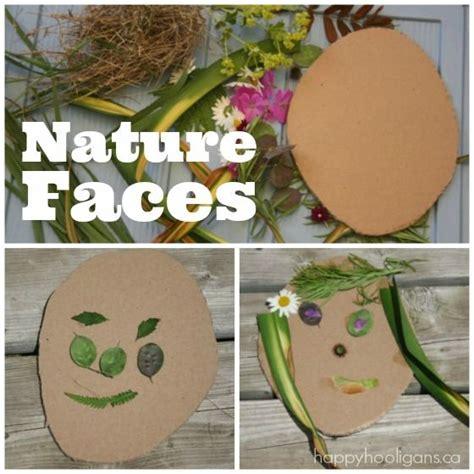 nature faces self portrait for preschoolers happy 874 | cbf9f63eeaaabfe9ec9eebafb34eab65