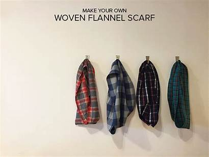 Flannel Cozy Scarf Woven Tutorial Fabric Moderndomesticpdx