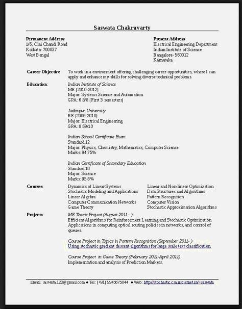 http information gate net resume letter cv sles for