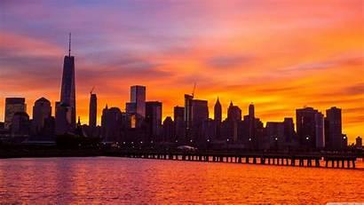 Skyline York Wallpapers Widescreen 4k Desktop Sunrise