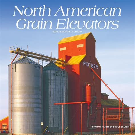 north american grain elevators monthly square wall