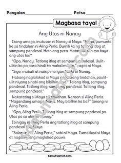 filipino images st grade worksheets reading