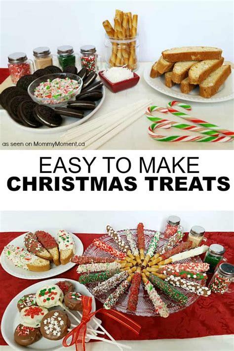 Easy Nobake Christmas Treats  Mommy Moment