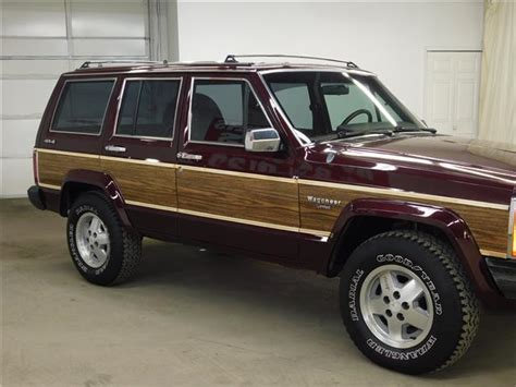 1989 jeep wagoneer limited 1989 jeep wagoneer limited 4 0l 6cyl 4wd only 126k miles