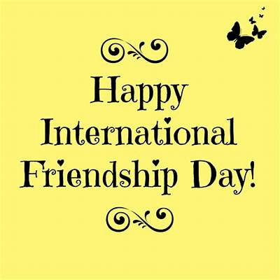 Celebrate International Friendship Day On July 30th