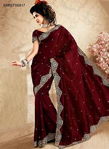 Indian Traditional Red Saree Collection 2013