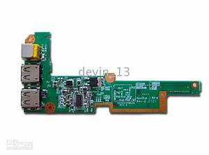 New Acer Aspire 4520 4720z Power Board Dc Jack Usb Da0z03pb6e0 Liteon Power Supply Computer