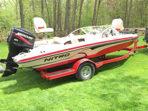 Nitro Bass Ski Boat 2007 nitro bass boat boats for sale