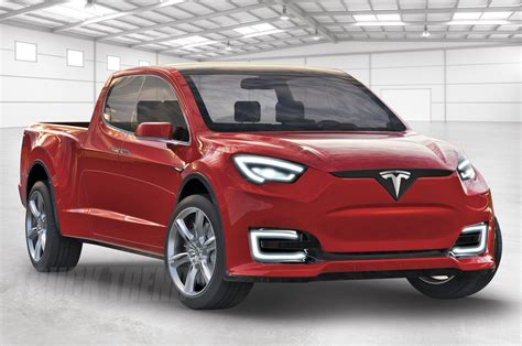 tesla truck tesla model u pickup renders speculation from truck