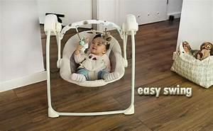 Easy Swing Massagesessel : balancelle relaxation b b easy swing interactive achat vente transat balancelle ~ Indierocktalk.com Haus und Dekorationen