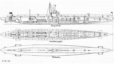 German U Boat Layout by Hunters
