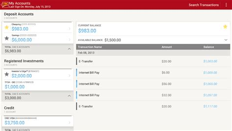 Maybe you would like to learn more about one of these? CIBC Mobile Banking® - Android Apps on Google Play