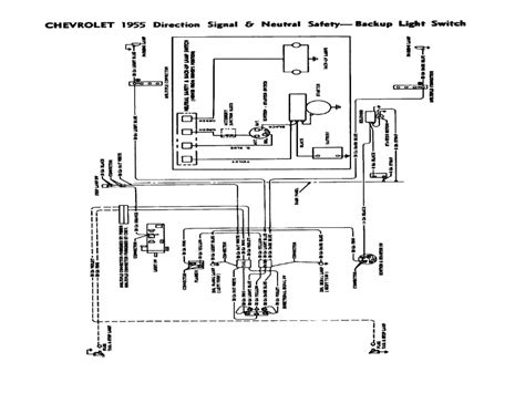 1957 chevy neutral safety switch diagram wiring forums