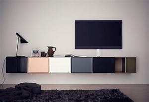 Tv Board Ikea : tv board aus modulen von montana bild 19 sch ner wohnen ~ Lizthompson.info Haus und Dekorationen