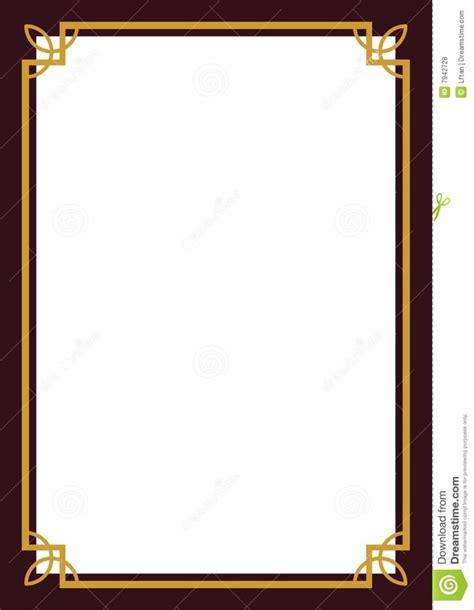 design a border home design certificate border royalty free stock photos