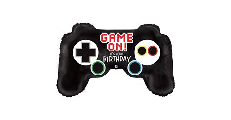 game controller jumbo foil balloon birthdayexpresscom