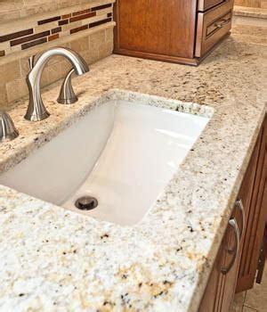 granite countertops with undermount sinks undermount sinks in granite countertops