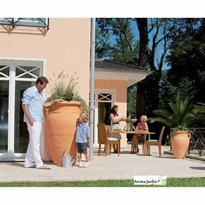 Bac Récupérateur D Eau De Pluie : r cup rateur d 39 eau de pluie amphore antik terracotta ~ Premium-room.com Idées de Décoration