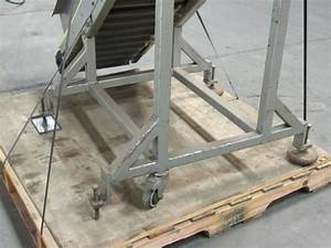 Mac Automation 12 2 U0026quot W Cleated Small Parts Incline