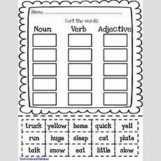 Free Nounverbadjective Printable