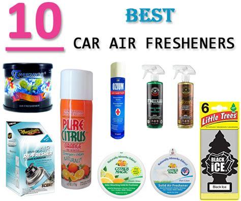 Top 10 Best Car Air Fresheners 2019