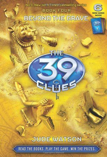 The 39 Clues Book 4 Beyond The Grave Jude Watson  The Childrens Book Review