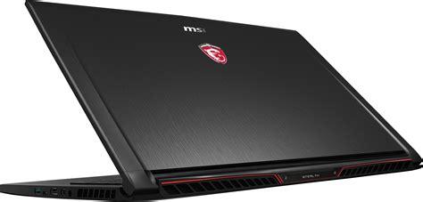 Msi Announces Windows 10 Gaming Laptops Built For Virtual
