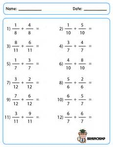 adding and subtracting mixed fractions worksheets abitlikethis - Adding Of Fractions