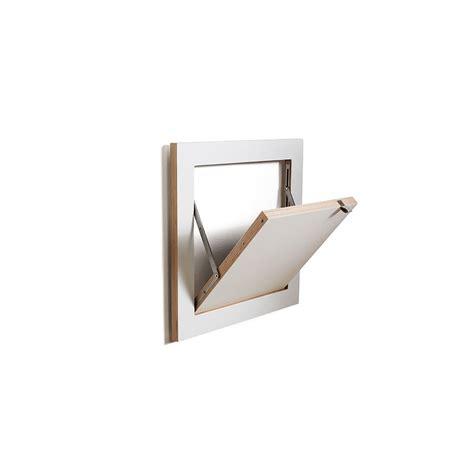 Small Single Shelf by Buy Ambivalenz Flapps Single Folding Shelf White 40x40