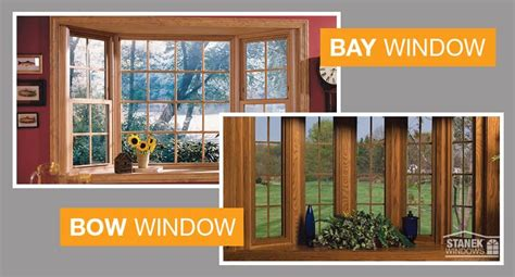 bay windows  bow windows  kinds  beautiful