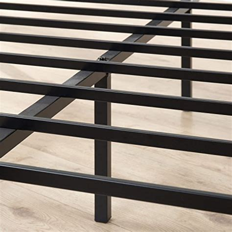 zinus metal framed canopy  poster platform bed frame