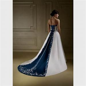 white and navy blue wedding dress naf dresses With navy blue wedding dresses