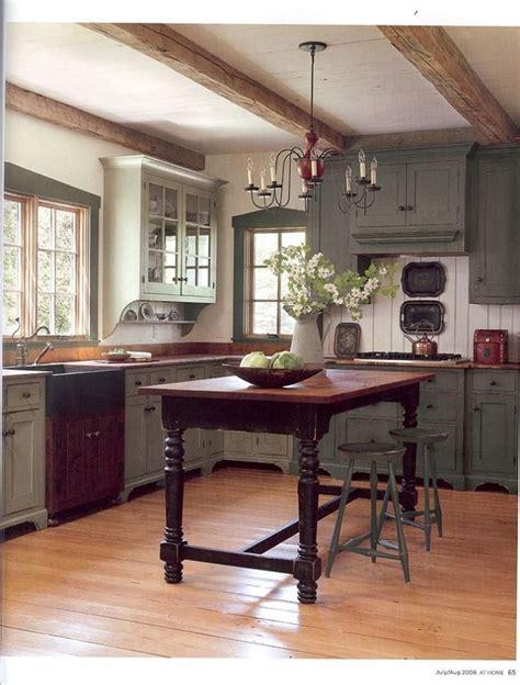 Primitive Kitchen Island Ideas by 1000 Images About Primitive Farmhouse Kitchen On