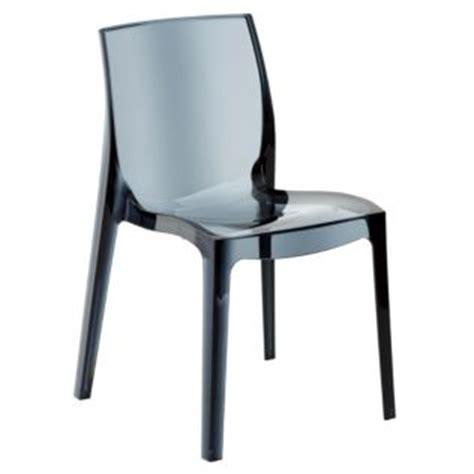 table et chaises de cuisine alinea chaise design transparente grise gris transparent becca