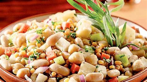 cuisiner les haricots blancs salade de légumineuses