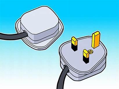 Wire Plug Wikihow Step Earth