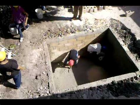 old septic tank building the septic tank youtube