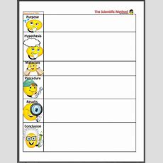 Cute Scientific Method Worksheet! Will Load The Pdf Onto Cc Connected, As Well As Weekly