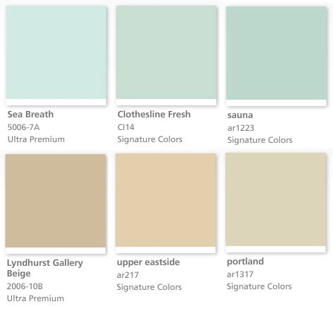 color theory other musings saunas valspar paint and