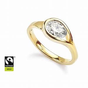 diamond rings custom made in fairtrade gold With bespoke wedding rings