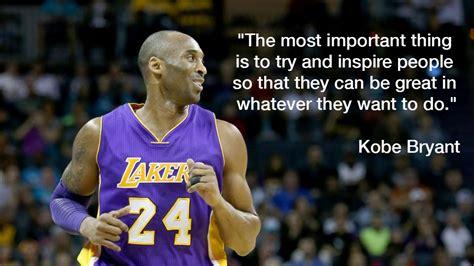 kobe bryant quotes  inspire greatness