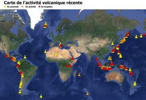 Carte Des Volcans Actifs Dans Le Monde by Muet Carte Politique Interactive De L Asie