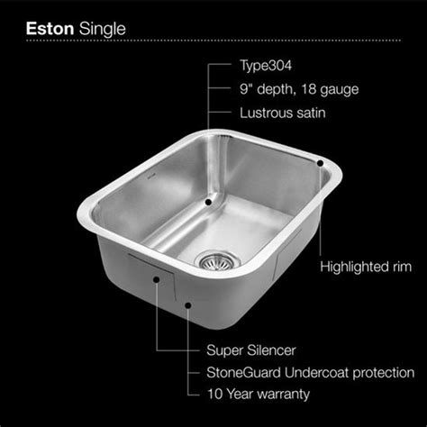 kitchen sink sts kitchen sinks ex sts 1300 1 undermount single bowl 2908