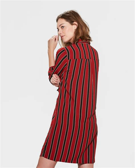 Stripe Twist stripe twist jurk 81355389 we fashion