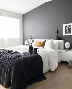 Best ideas about dark gray bedroom on