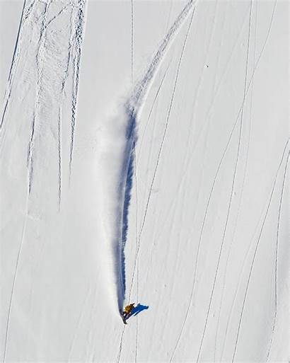 Snowboarding Turn Toeside Transworld Revelstoke